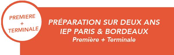 Prépas Sciences Po Paris & Bordeaux Première + Terminale | Paris, Toulouse, Lyon, Bordeaux, Lille, Nice, Marseille