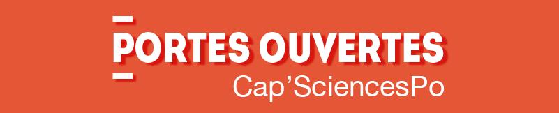 Portes ouvertes Cap'SciencesPo 2019. Préparation concours Sciences Po Paris, Toulouse, Lyon, Bordeaux, Lille, Marseille, Nice